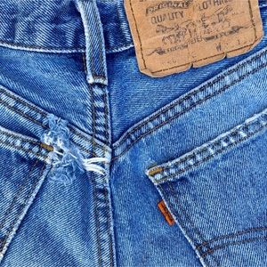 Levi's Shorts - Vintage Levi's Orange Tab Denim Shorts